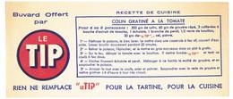Buvard 20.9 X 9  Offert Par LE TIP Pour La Tartine, La Cuisine   Recette De Cuisine  Colin Gratiné à La Tomate - Alimentare