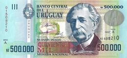 URUGUAY 1992 500000 Nuevo Peso - P.73a Neuf UNC - Uruguay