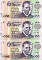 URUGUAY 2003 100 Peso - P.85a Neuf UNC - Uruguay