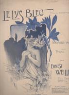 Partition Grand Format : Le Lys Bleu (illustr G Dola) (MPA GF 186) - Scores & Partitions