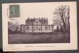 CPA  :      Méréville     Le Château    Entrée Principale   Carte écrite 1920 - Mereville