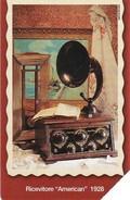 "*ITALIA: 80 ANNI DI RADIO - RICEVITORE ""AMERICAN"" 1928* - Spezzatura Usata - Public Practical Advertising"