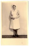 WW2 German Army Hospital Nurse RPPC 1943 - Guerra 1939-45