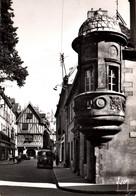5844 Carte Postale DIJON L' Echauguette Rue Verrerie (Vieux Camion Peugeot (scan Recto-verso) 21 Côte D'Or - Dijon