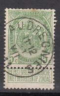 N° 83  OBLITERATION  AUDREGNIES - 1893-1907 Stemmi