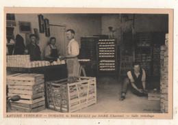 LAITERIE VERGNAUD DOMAINE De BASLEVILLE Par AIGRE  ( Charente ) Salle Emballage - Other Municipalities