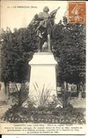 LE NEUBOURG - Statue De GAMBETTA Par Verlet - Le Neubourg