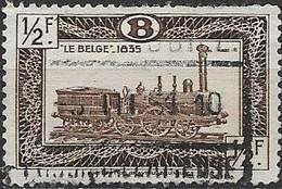 BELGIUM 1949 Locomotives - 1/2f Locomotive Le Belge, 1835 FU - 1942-1951