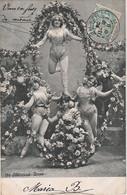 T4- ARTISTE FEMME - FRAU - LADY - ALTEROCCA TORNI - ( OBLITERATION DE 1904 - 2 SCANS ) - Entertainers
