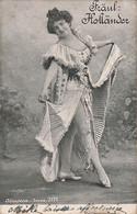 T4- ARTISTE FEMME - FRAU - LADY - ALTEROCCA TORNI -  FRAUL: HOLLANDER - ( OBLITERATION DE 1904 - 2 SCANS ) - Entertainers