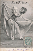 T4- ARTISTE FEMME - FRAU - LADY - ALTEROCCA TORNI - 1747 - FRAUL: HOLLANDER - ( OBLITERATION DE 1904 - 2 SCANS ) - Entertainers