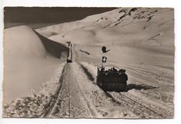 ADELBODEN Ski Funi Schlitten-Aufzug Gel. 1939 Stempel Eden Hotel Victoria - BE Berne