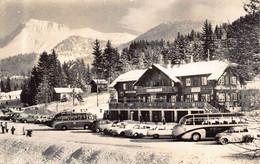 """CHATEL SAINT DENIS  -  """" LES PACCOTS """"  Hotel DENT DE LYS ( Autobus , Etc ) - FR Fribourg"""
