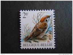 België Belgique Belgium 1989 Vogels Oiseaux Buzin Ringmus Moineau Typo 2347Nov Yv 2347 MNH ** - 1985-.. Oiseaux (Buzin)