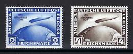 ⭐ Allemagne - Poste Aérienne - YT N° 38 Et 39 * - Neuf Avec Charnière - Infime Trace De Charnière TTB - 1930 ⭐ - Airmail