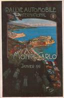 MONTE CARLO-RALLYE AUTOMOBILE INTERNATIONAL  JANVIER 1911 - Monte-Carlo