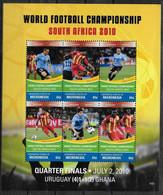 MICRONESIE Feuillet N° 1800/05  * * ( Cote 12e ) Cup 2010 Football Fussball Soccer Ghana Uruguay - 2010 – Sud Africa