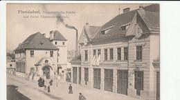 Floridsdorf : Protestantische Kirche Und Freiw. Feuerwehr-gebäude - Unclassified