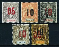 Gabón (Francés) Nº 68-72-73/5º/* - Unclassified