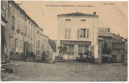 42 SAINT-MARTIN-D'ESTREAUX  Place De L'Eglise - Sonstige Gemeinden