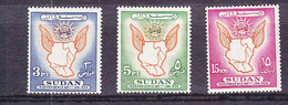 SUDAN: 1956 INDEPENDENCE COMMEM,  MNH SET. - Sudan (1954-...)