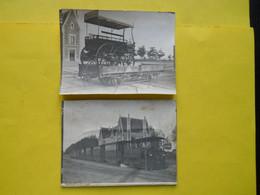 Photo T I V , En Gare De Rennes La Touche , Collection Guittet, Tramway Et Omnibus - Treni