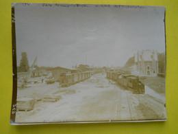 Photo T I V , En Gare De Rennes La Touche , Collection Guittet, Tramways ,vue D'ensemble - Treni