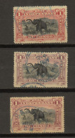 Congo Belge Ocb Nr : 26 - 26a 26b    (zie Scan) - 1894-1923 Mols: Used