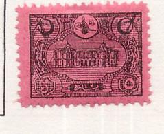 PIA - TURCHIA  : 1913 - Segnatasse. - (Yv 46 ) - Neufs