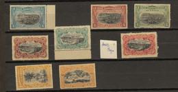 Congo Belge Ocb Nr : 14 - 21 * MH  (zie Scan)  19 Avec Double Frappe Gauche - 1894-1923 Mols: Mint/hinged