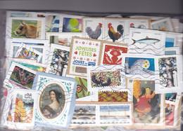 200 Grs TIMBRES Sur Fragments Grands Formats FRANCE Provenant Des Missions Et Organismes Caritatifs - Lots & Kiloware (mixtures) - Min. 1000 Stamps