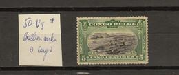Congo Belge Ocb Nr :  50 - V5 * MH  (zie Scan) - 1894-1923 Mols: Mint/hinged
