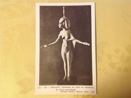 Egypte Statuette Funeraire Tombeau De Tout-ank-Amon - Geschichte