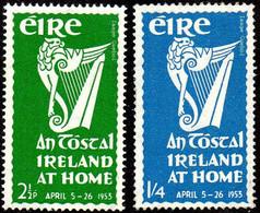 Irlande N° 118 Et 119 ** Propagande - Emblème National - Harpe - Ohne Zuordnung