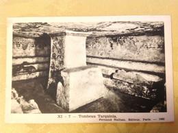 Tombeau Tarquinia - Geschichte