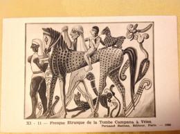 Fresque Etrusque De La Tombe Campana à Veies - Geschichte