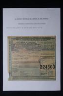 FRANCE - Bulletin De Colis Postal En 1943 Pour Paris Pour L'Allemagne De La Croix-Rouge - L 85023 - Cartas