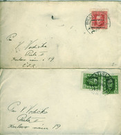 SLOVAKIA (Czechoslovakia) 1925 Precursors - Two Covers - Other