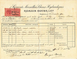 ** ROMAIN BOYER & Cie.- MARSEILLE.-** - 1900 – 1949