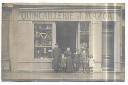 Tarbes Top Rare Carte Photo Quincaillerie J. Mazoa 9, Rue Thiers Tarbes - Tarbes