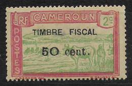 CAMEROUN - TIMBRE FISCAL - 50 CENT. - Nuevos