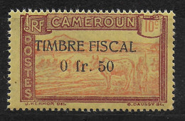 CAMEROUN - TIMBRE FISCAL - 0fr.50 - Nuevos