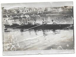 JUILLET 1921 AVIRON - SOUVENIR DES YOLES - KLEBER A 19 ANS - PHOTO - Sport