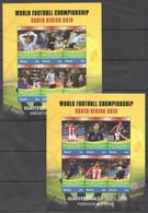 Palau - 2010 - Football World Cup - Yv 2558/69 - 2010 – Zuid-Afrika