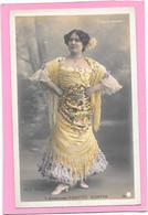 L'Andalouse PAQUITA MONTES - Folies Bergères - Photo Walery - Entertainers