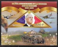 CONGO  BF   * *   Guerre  Char Avions De Gaulle - De Gaulle (General)