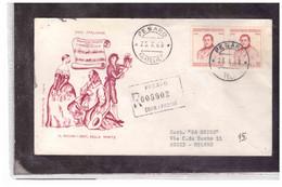 FDC6691  -  PESARO  25.10.1968   /   FDC  CENTENARIO DELLA MORTE DI GIOACCHINO ROSSINI - F.D.C.