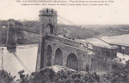 La Roche Bernard Vue Du Pont En Amont Et De La Ville éditeur Vassellier N°1761 - La Roche-Bernard