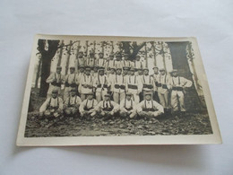 CP PHOTO MILITAIRE TRES ANIMEES GROUPE A GRENOBLE ( 38 Isere )  En 1916 - Regimientos