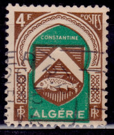 Algeria 1947, Constantine Coat Of Arms, 4f, Sc#219, Used - Used Stamps